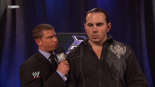 [Matt Hardy Is Interviewed by Josh Mathews]