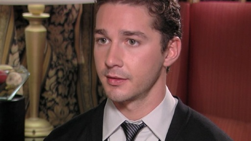 Shia LaBeouf Talks Michael Douglas&#39; Cancer Battle &amp; &#39;Transformer Video