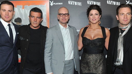 Stars Rave Over Gina Carano at 'Haywire' Hollywood Premiere Video
