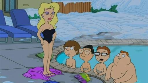 skinny dipping family