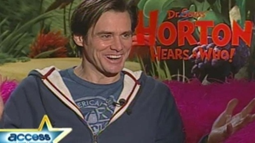 [Jim Carrey 'Hears a Who']