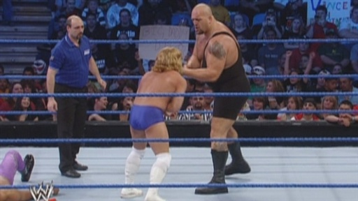 Big Show Competes in Handicap Match Video