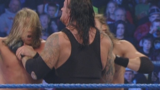 The Undertaker Vs. Edge, Zack Ryder and Curt Hawkins Video