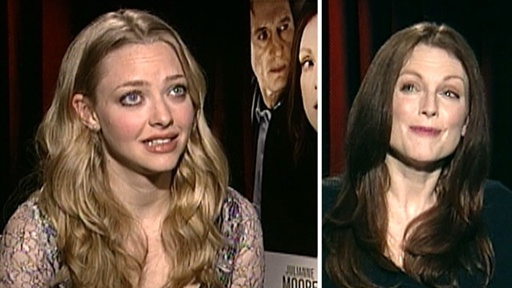 Amanda Seyfried &amp; Julianne Moore On Their Racy Sex Scene in &#39;Chl Video