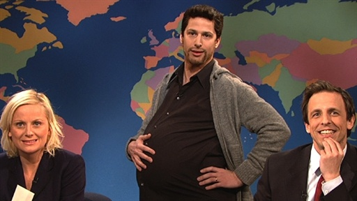 Weekend Update: Pregnant Man Video