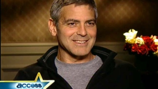 "[George Clooney ""Embarrassed"" to Direct Himself]"