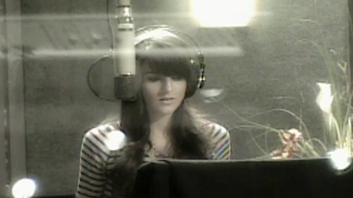 Ali Lohan Recording New Album Video