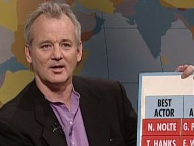 Bill Murray's Oscar Picks Video