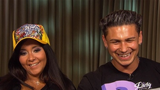 ['Jersey Shore's' Snooki and Pauly D Go Hollywood]