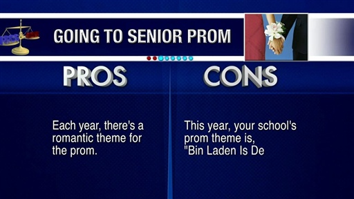 [Pros and Cons: Senior Prom]
