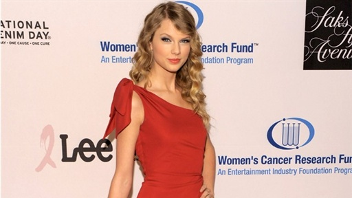 [EIF Cancer Research Gala: Taylor Swift On Hope for Haiti and 'Va]