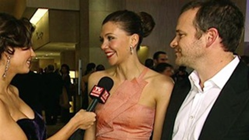 Golden Globes 2010 Exit Interview: Acting Couple Maggie Gyllenhaal & Peter Sarsgaard