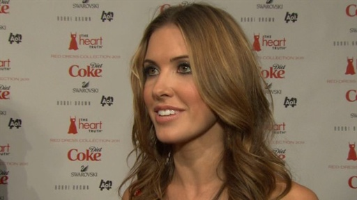 Audrina Patridge Is 'Nervous' About Walking in NYC Fashion Week' Video