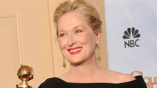 2010 Golden Globes: Backstage With Meryl Streep Video