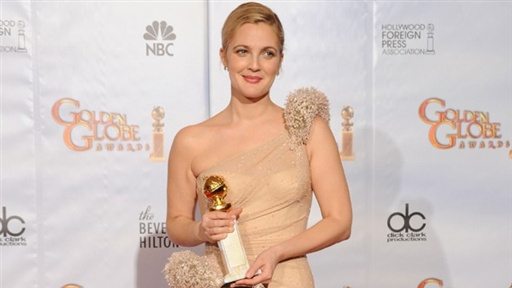 2010 Golden Globes: Backstage With Drew Barrymore Video