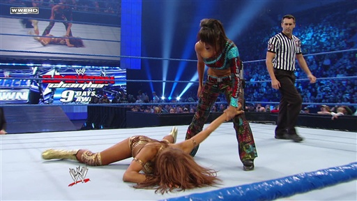 Divas Champion Eve Vs. Layla Video