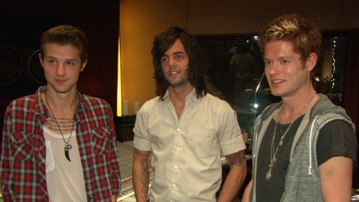 The Guys of Hot Chelle Rae Talk 'Glee' Connection and Breakout S view on break.com tube online.