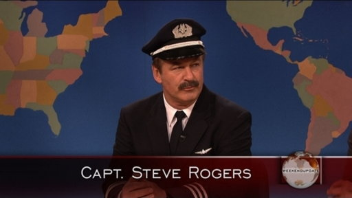 Weekend Update: Capt. Steve Rogers Video