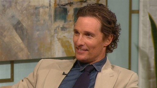 [Matthew McConaughey Shares His Weight Loss Secret - Red Wine!]