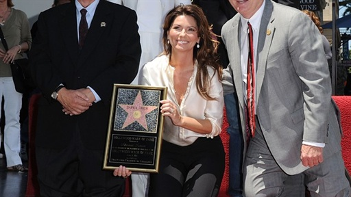 Shania Twain Gets Her Star On the Hollywood Walk of Fame Video