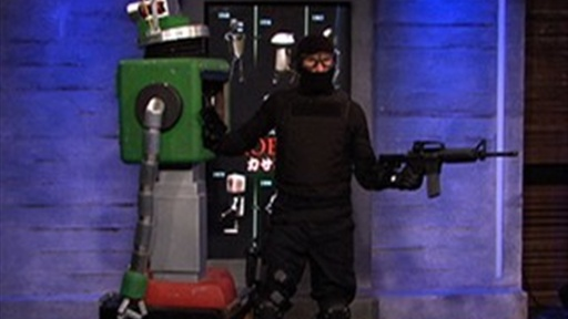 Robot Kidnapped from the AOTS Studio! Video