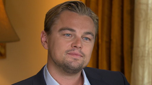 [Leonardo DiCaprio Talks Bringing 3-D to 'The Great Gatsby']