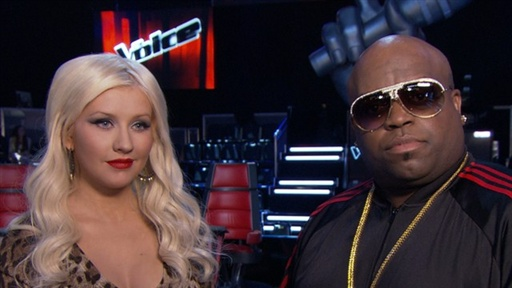 Christina Aguilera & Cee Lo Raise Their 'Voice' Video