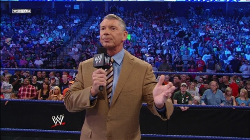 [Mr. Mcmahon Addresses the WWE Universe]