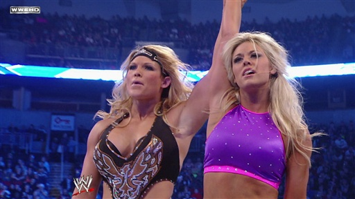 Tiffany Vs. Women's Champion Michelle McCool Video