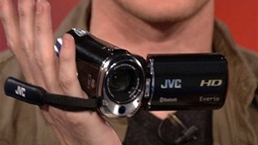JVC Everio GZ-HM550 Camcorder Review Video