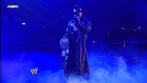 [The Undertaker Addresses the WWE Universe]