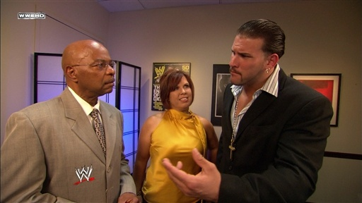 [Theodore Long and Vickie Guerrero Talk]