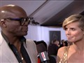 Live From the Red Carpet: 2011 Grammys: Seal and Heidi Klum