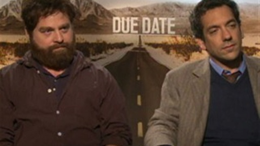 "[Zach Galifianakis and Todd Phillips Talk ""Due Date""]"