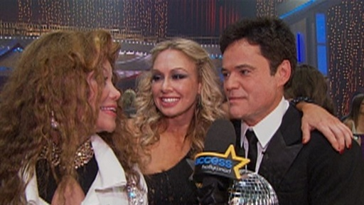 Donny Osmond Crowned 'Dancing' Champion Video