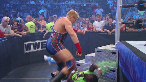[Tag Team Champions Air Boom vs. United States Champion Dolph Zig]