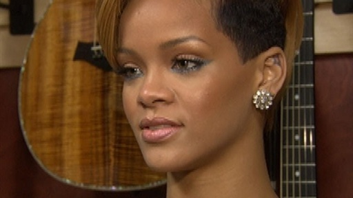 Rihanna Reacts to Adam Lambert's AMAs Performance Controversy Video
