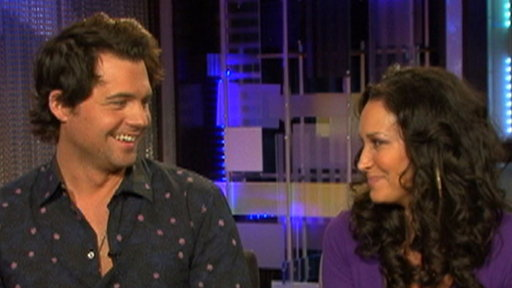 Kristoffer Polaha Dishes On 'Ringer' Video