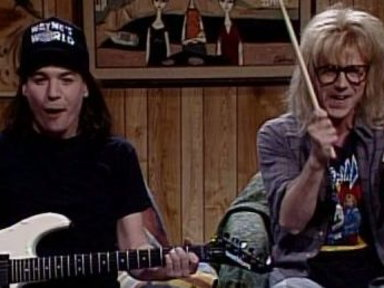 Wayne's World Cold Opening Video