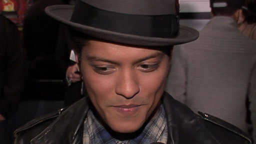 [Grammy Nominations Concert: Bruno Mars Reacts to His Big Year]