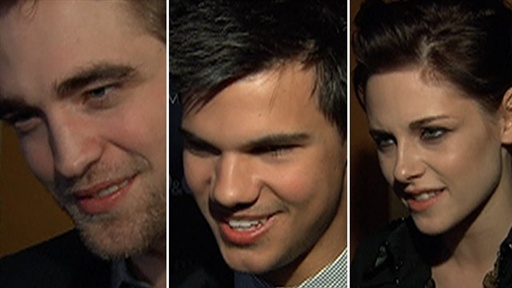 Robert, Taylor and Kristen Hit the New York &#39;New Moon&#39; Premiere Video