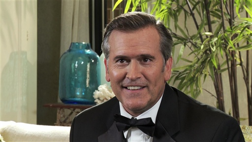 Bruce Campbell on Season 4 Video