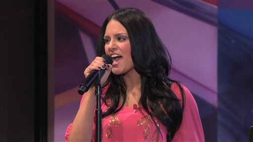 american idol pia. American Idol Finalist Pia Toscano performs River Deep, Mountain High with the Tonight Show band.