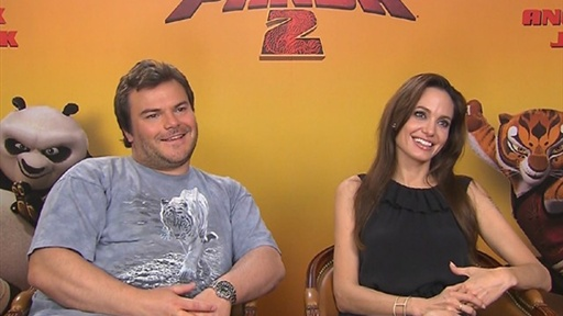 [Jack Black On Ad-Libing for 'Kung Fu Panda 2': 'There Wasn't a F]