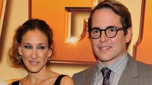 Matthew Broderick & Sarah Jessica Parker's Family Night Out at ' Video