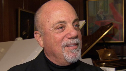 Billy Joel Unveils His Portrait at Steinway Hall Video