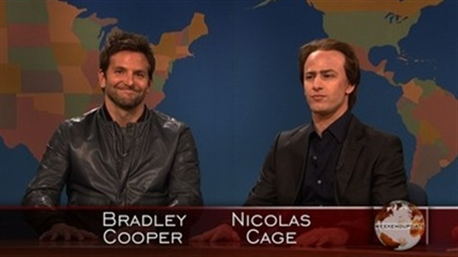 Weekend Update: Nicolas Cage and Bradley Cooper Video