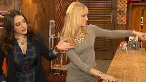 Kat Dennings & Beth Behrs Give Access a Tour of the '2 Broke Gir view on break.com tube online.