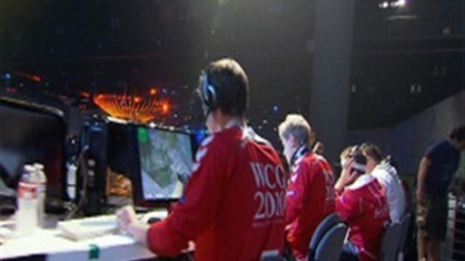 [Blair Visits the 2010 World Cyber Games]