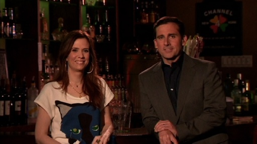 [Steve Carell Promos with Kristin Wiig]